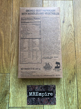 Load image into Gallery viewer, USA KOSHER MRE Military Meal-ready-to-eat entree