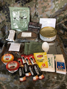 Latvian 24 hour Army ration