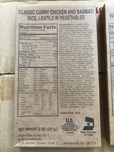 USA KOSHER MRE Military Meal-ready-to-eat entree