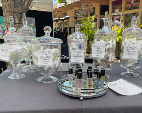 perfectlyscentsable booth photos