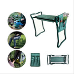 Outdoor garden kneeler and seat, Gardon stool with soft EVA pad