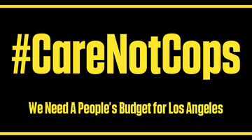 Defund The Police: People's Budget LA