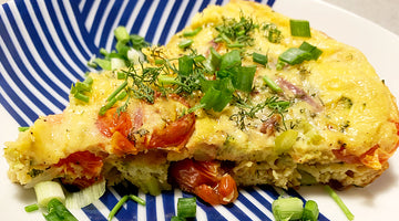 Simple Vegan Frittata Using JUST Egg