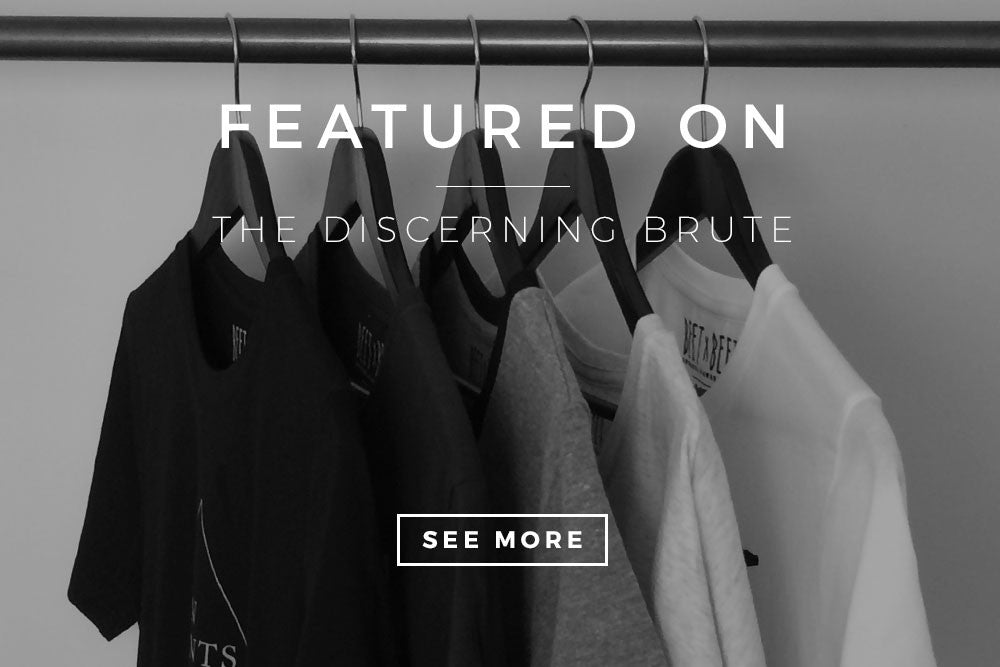 Featured on The Discerning Brute