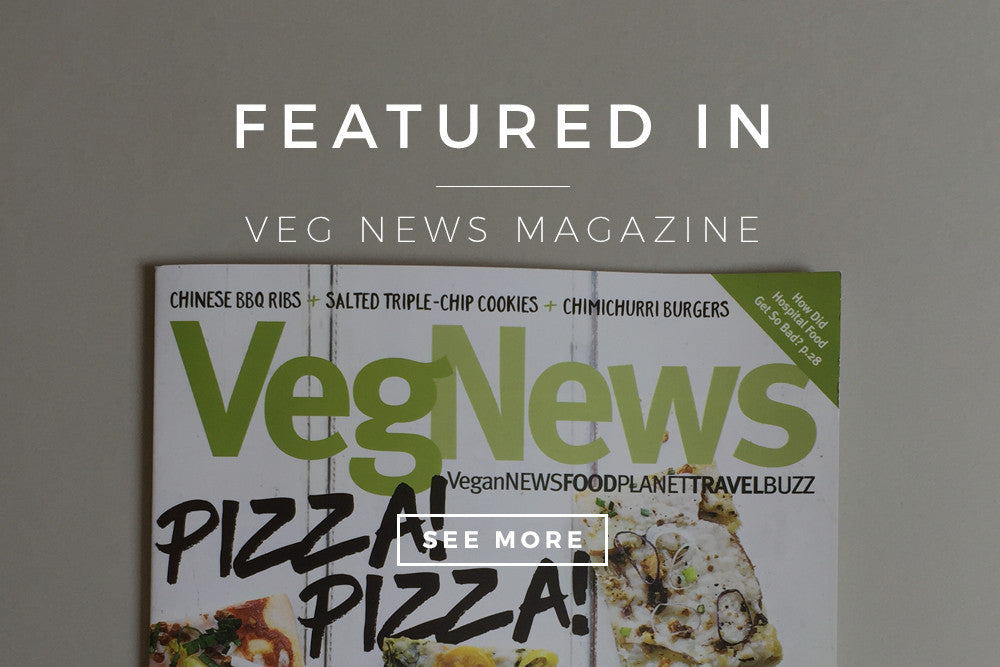 Featured in: VegNews Magazine