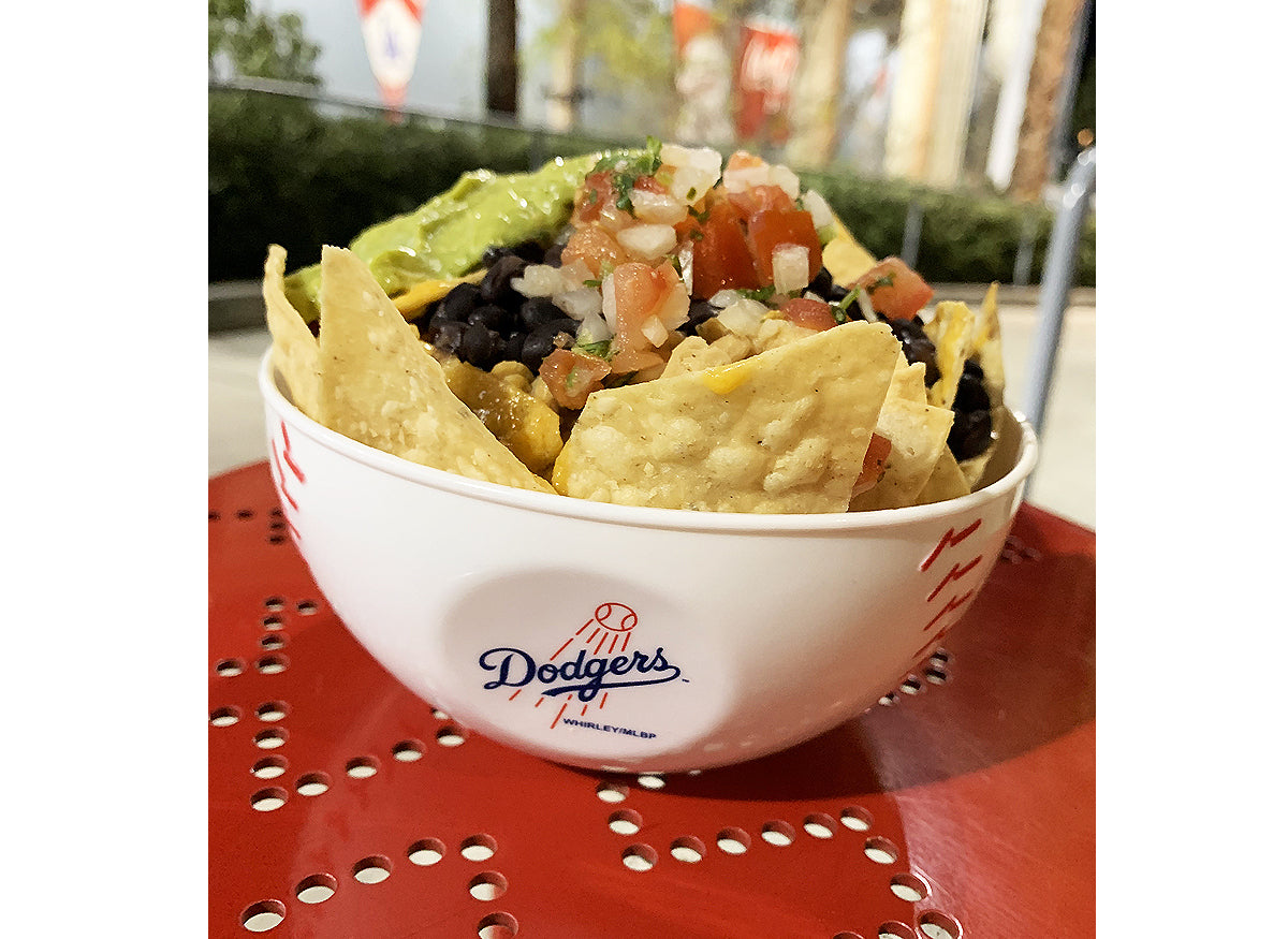Vegan Tempeh Nacho Bowl at Dodger Stadium