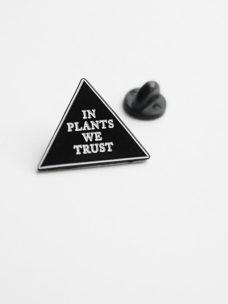 In Plants We Trust