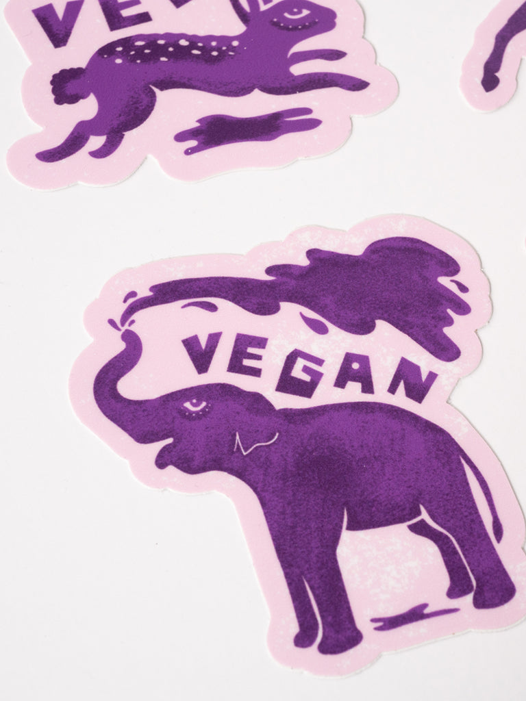 Herbivore Animals Sticker Pack