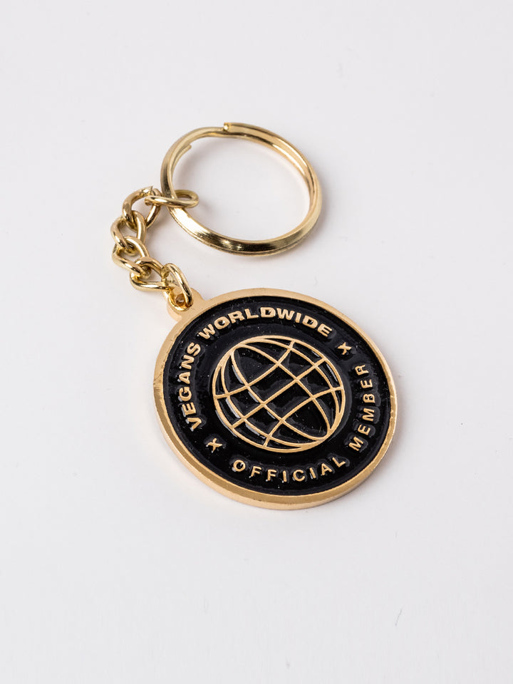 Vegans Worldwide Keychain