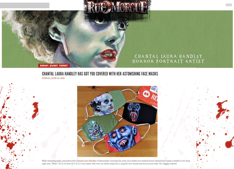 RUE MORGUE MAGAZINE FEATURE!