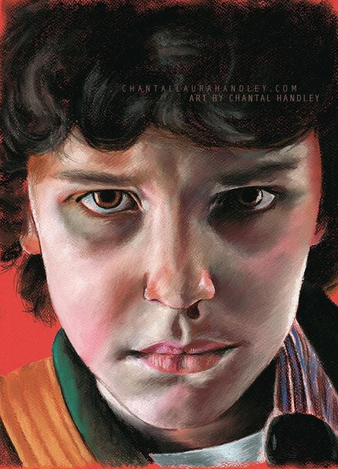 STRANGER THINGS - Eleven - Art Print