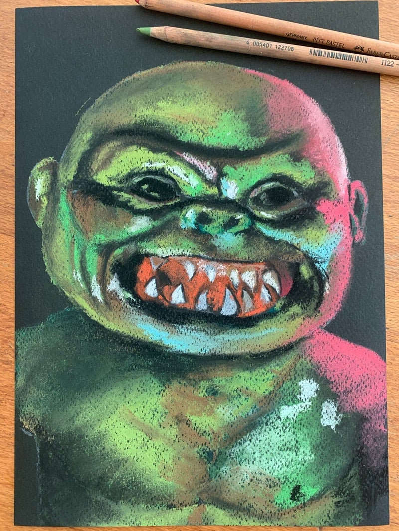 GHOULIES - Original Pastel Artwork