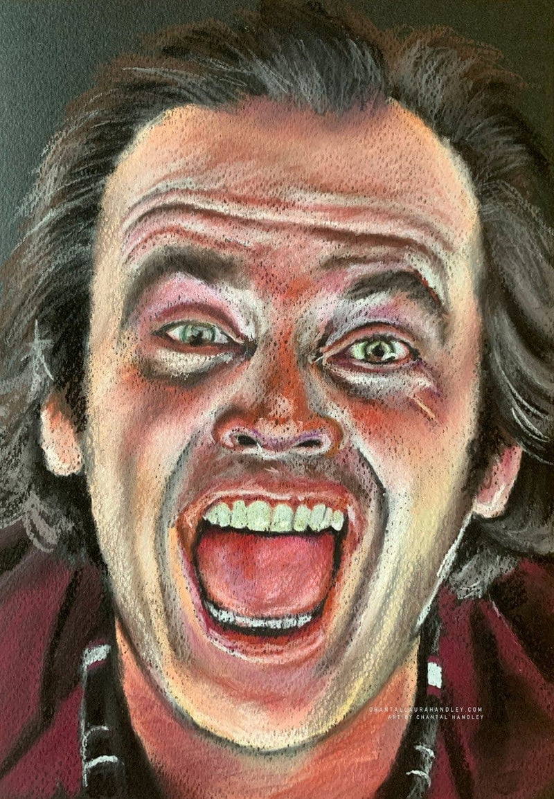 THE SHINING - Jack Torrance - Original Pastel Artwork