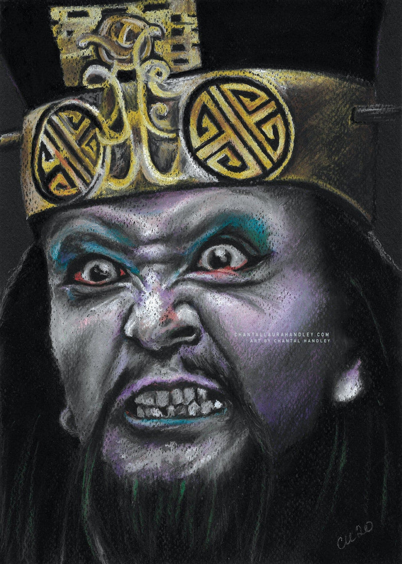 LO PAN - BIG TROUBLE IN LITTLE CHINA -  Art Print