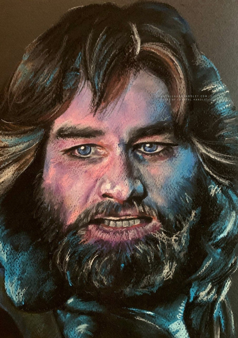 THE THING - R.J. MacReady - Original Pastel Artwork