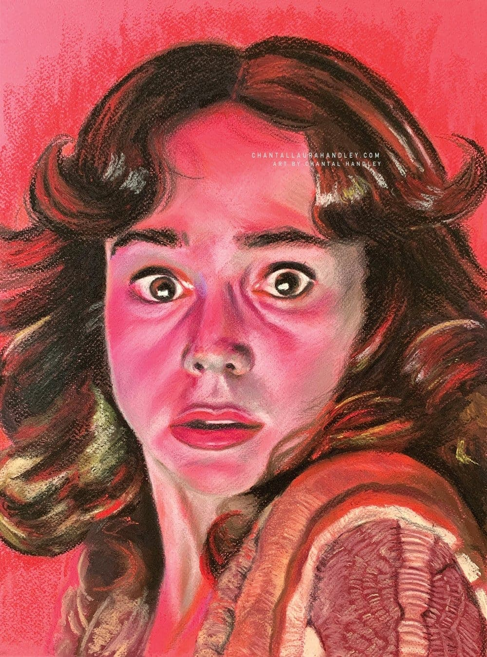 SUSPIRIA - Suzy Bannion - Art Print - ChantalLauraHandley