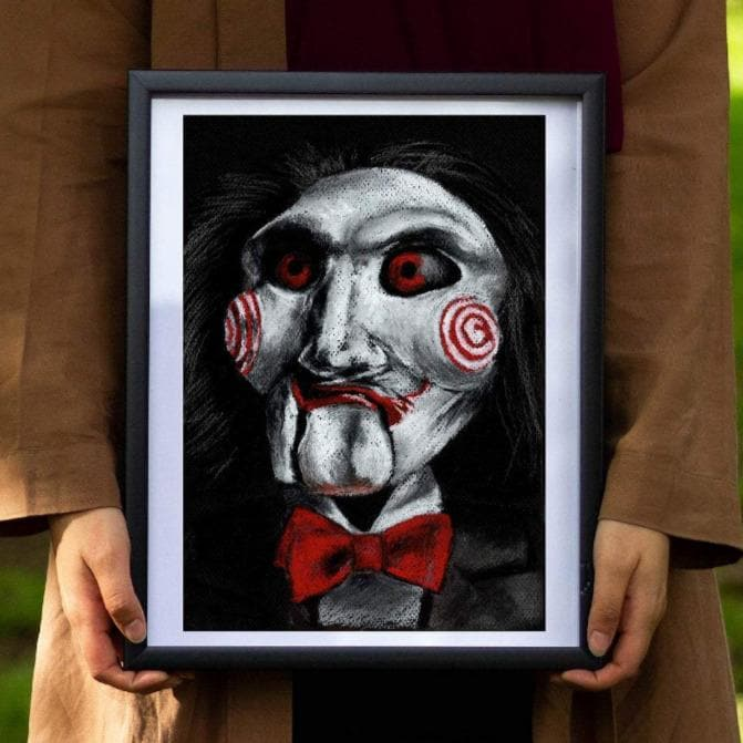 Billy the Puppet - Art Print - ChantalLauraHandley