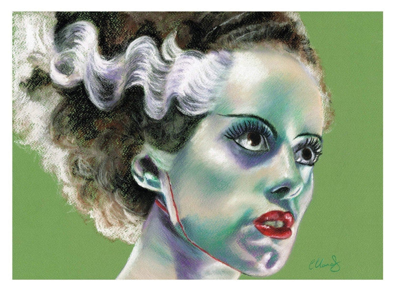 BRIDE OF FRANKENSTEIN - Art Print - ChantalLauraHandley