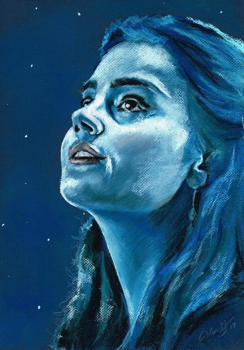 DOCTOR WHO - Original Pastel Artwork - ChantalLauraHandley