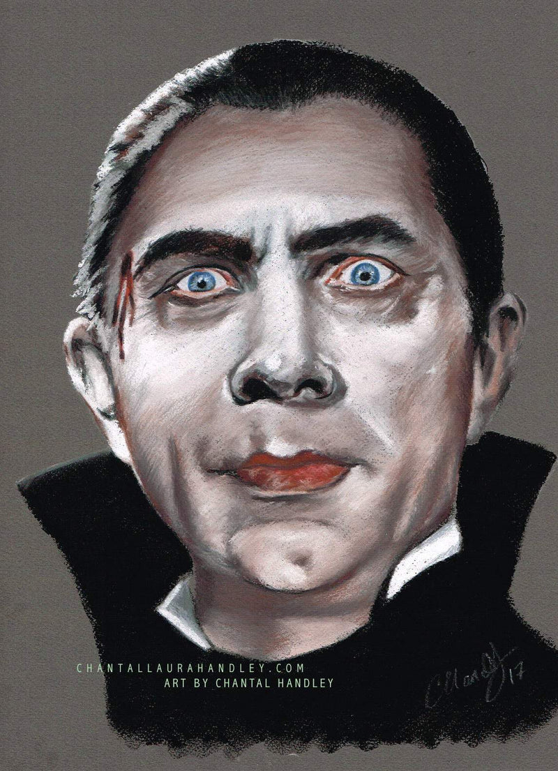 DRACULA - Original Pastel Artwork - ChantalLauraHandley