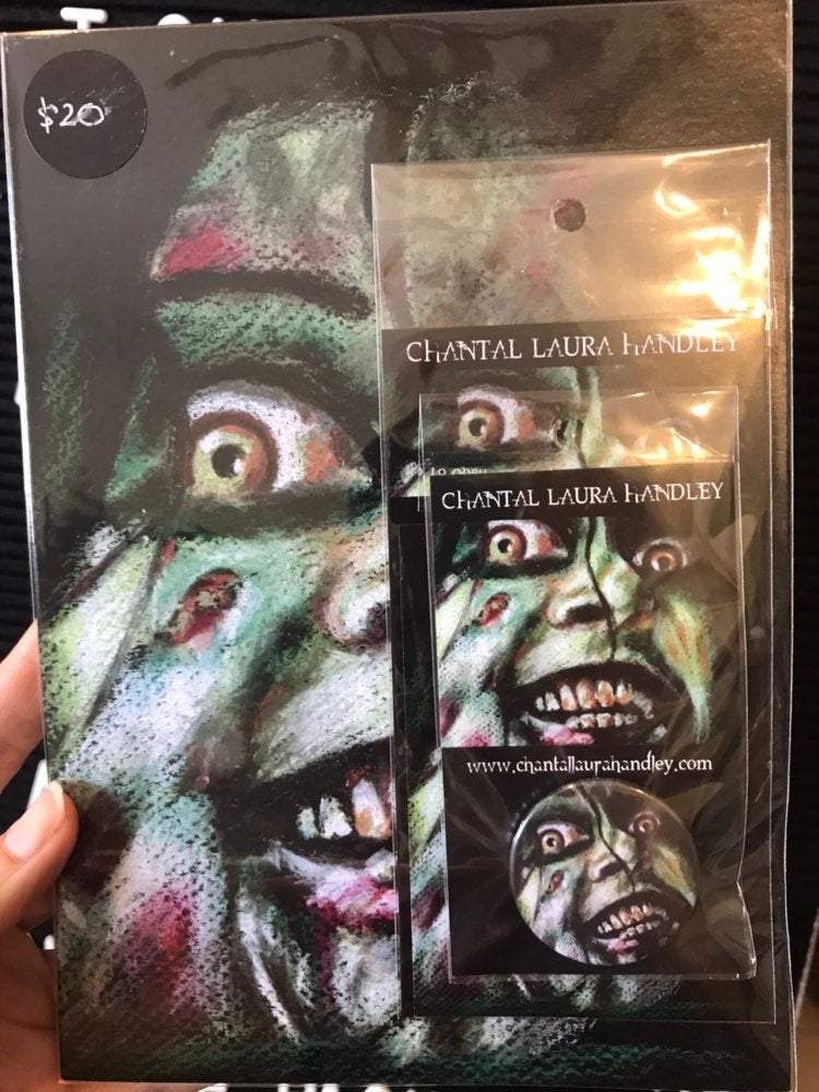 EVIL DEAD - Mia - Horror Art Pack HORROR PACK ChantalLauraHandley