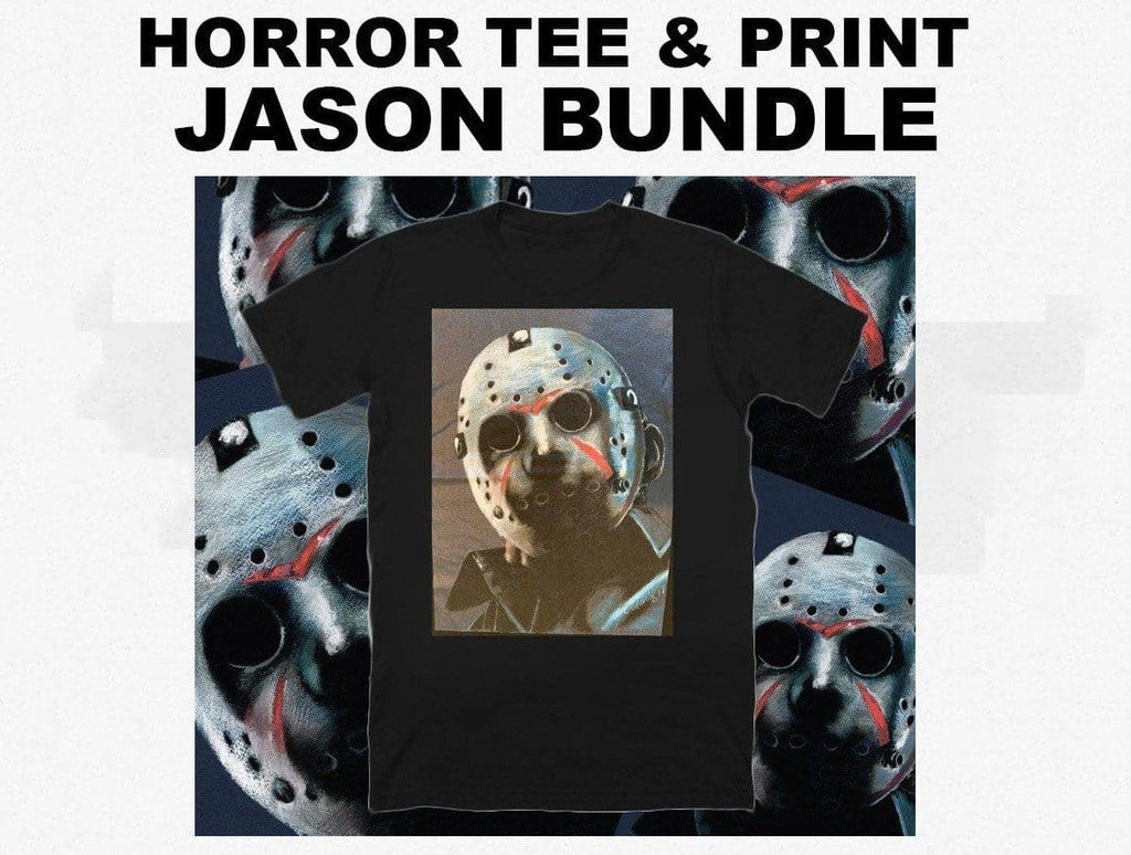 FRIDAY THE 13TH - Horror T-Shirt & Print Bundle - ChantalLauraHandley