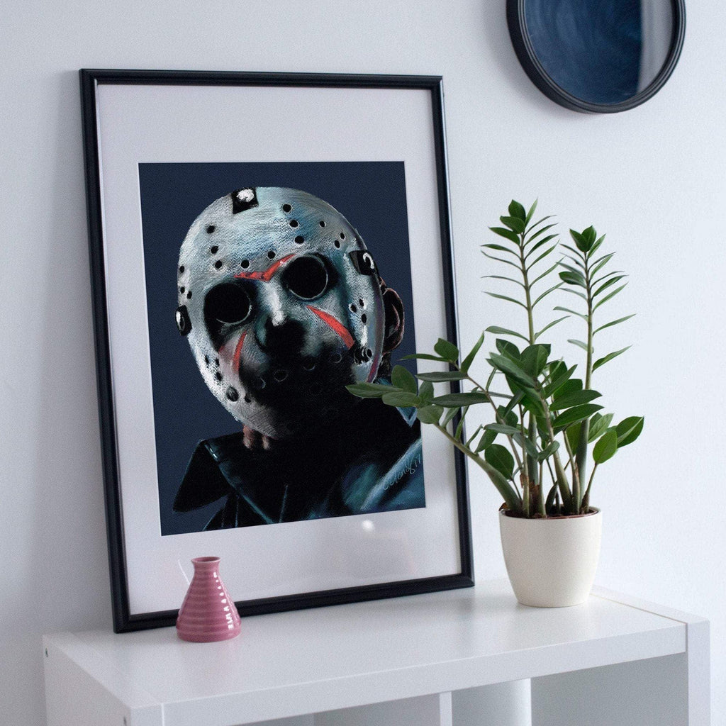 FRIDAY THE 13TH - Jason Voorhees - Art Print ART PRINT ChantalLauraHandley