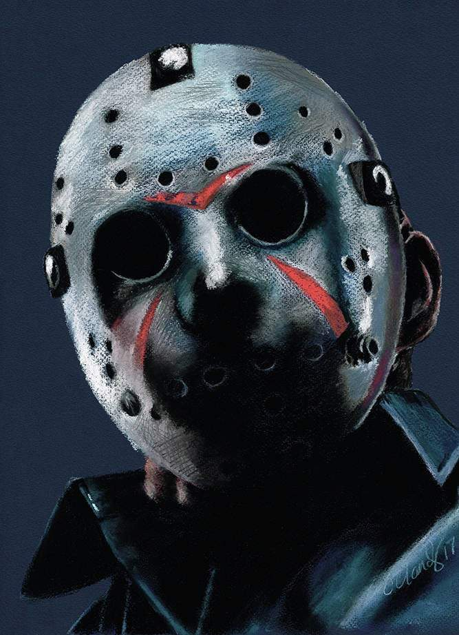 FRIDAY THE 13TH - Jason Voorhees - Art Print - ChantalLauraHandley