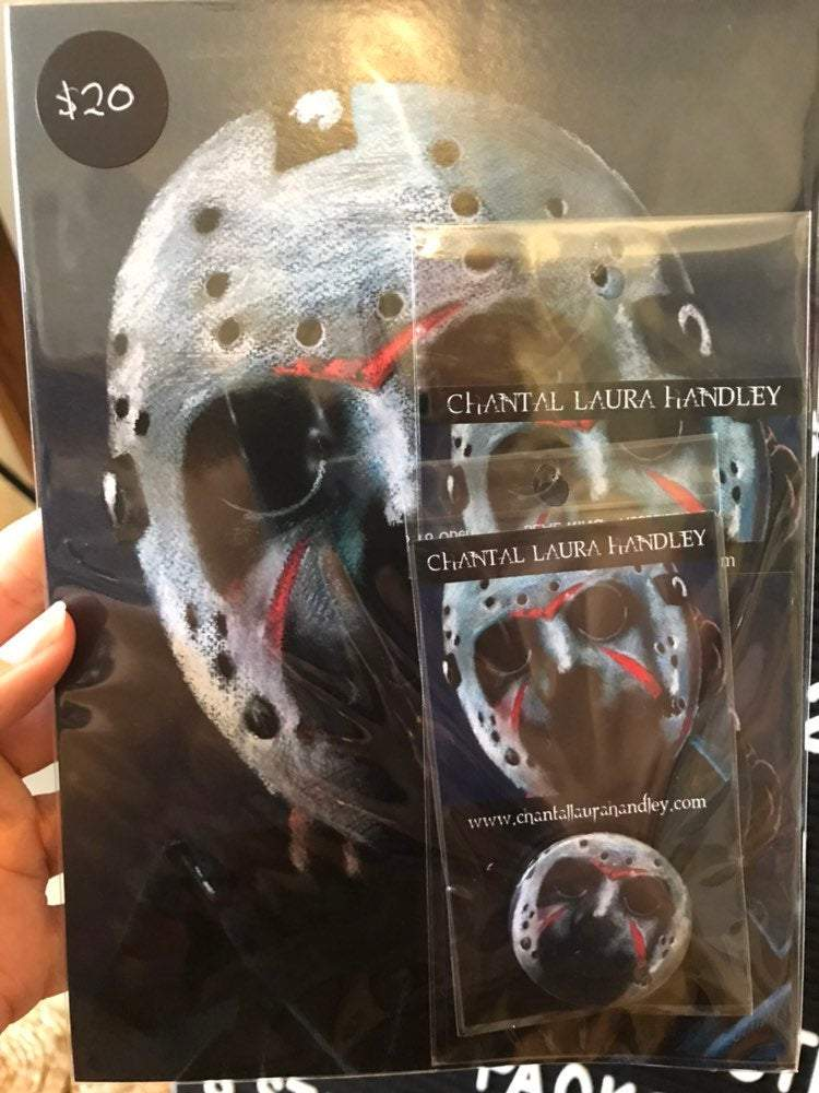 FRIDAY THE 13TH - Jason Voorhees - Horror Art Pack - ChantalLauraHandley