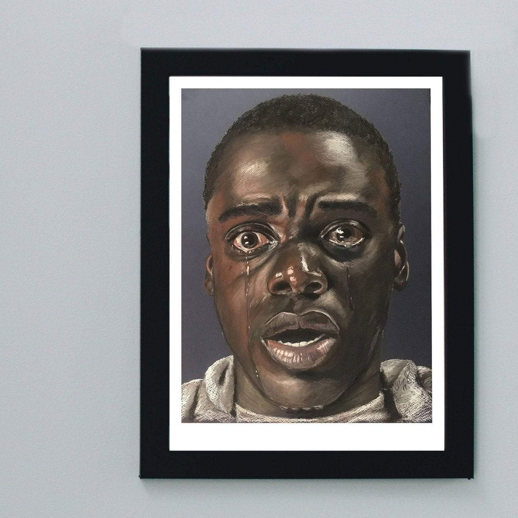 GET OUT - Daniel Kaluuya - Art Print ART PRINT ChantalLauraHandley