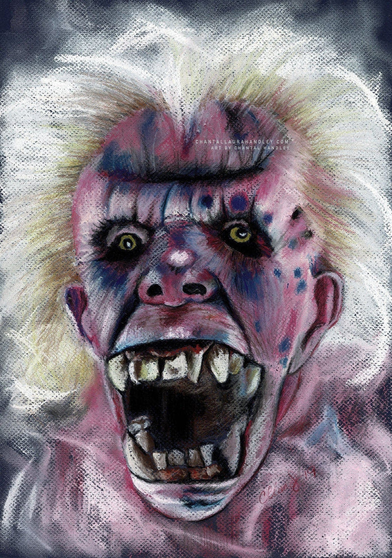 GHOSTBUSTERS - Original Pastel Artwork - ChantalLauraHandley