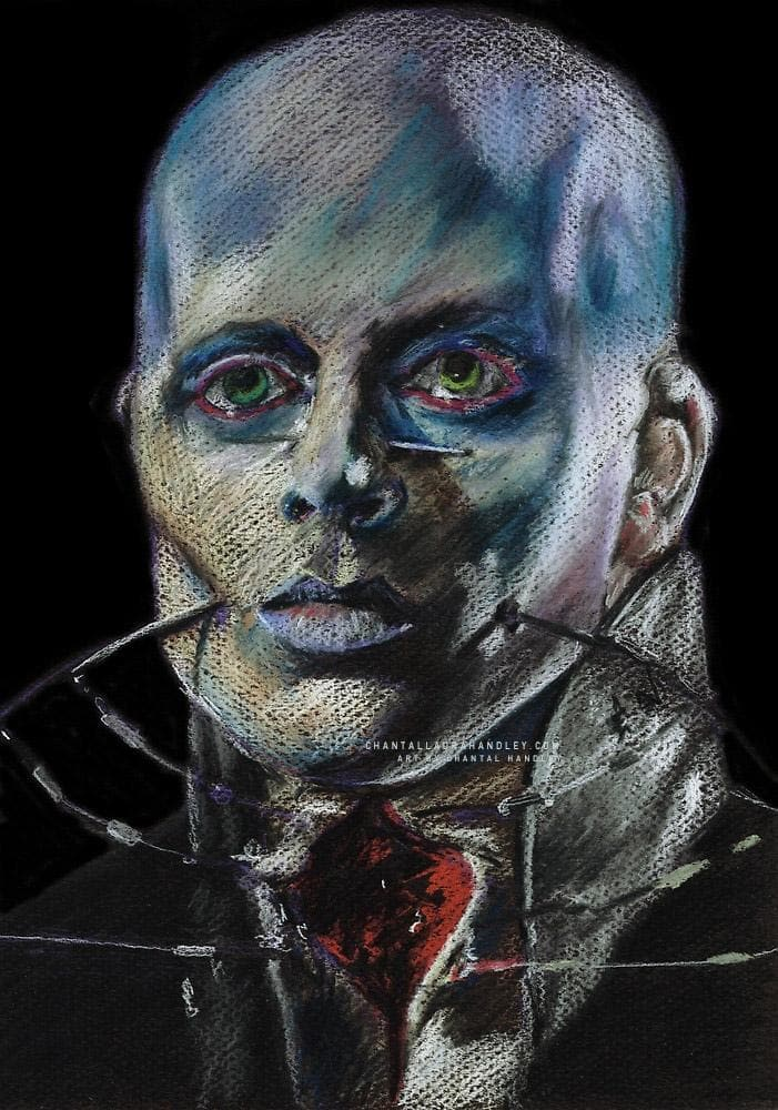 HELLRAISER - Female Cenobite - Art Print - ChantalLauraHandley