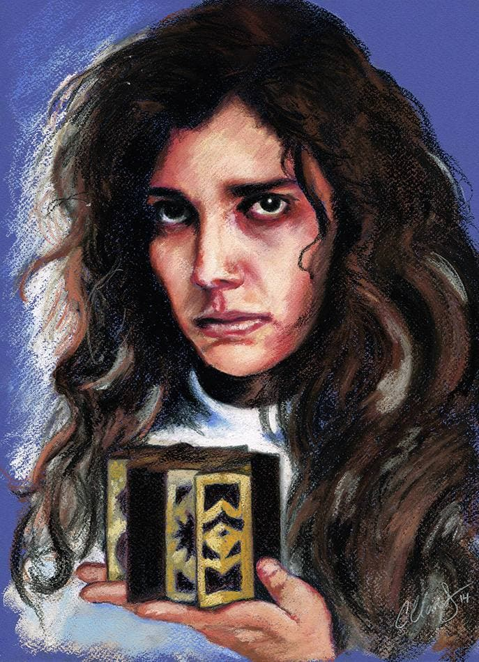 HELLRAISER - Kirsty Cotton - Art Print - ChantalLauraHandley