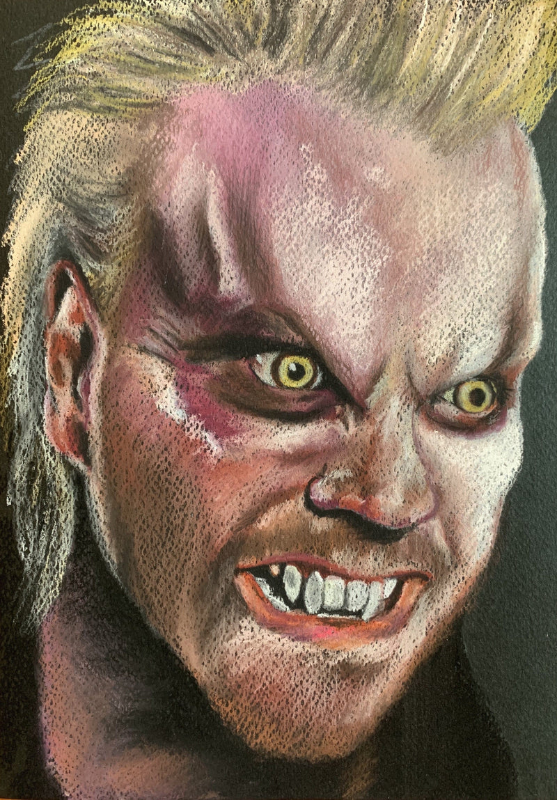 THE LOST BOYS - David - Original Pastel Artwork