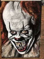 IT MOVIE - Original Pastel Artwork - ChantalLauraHandley