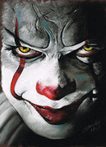 IT MOVIE - Pennywise - Art Print - ChantalLauraHandley