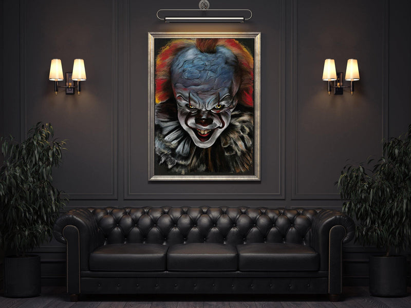IT MOVIE - Pennywise - Art Print ART PRINT ChantalLauraHandley