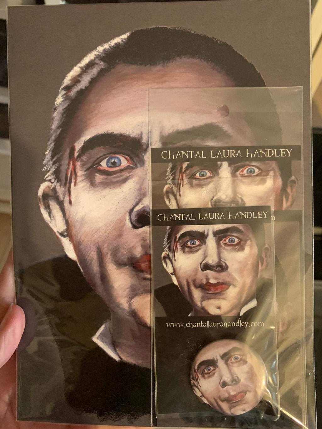 MARK of the VAMPIRE - Bela Lugosi Horror Pack HORROR PACK ChantalLauraHandley