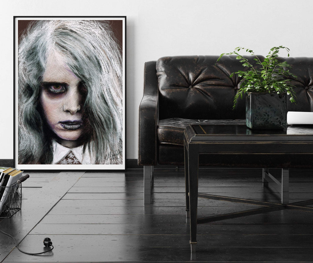 NIGHT of the LIVING DEAD - Karen Cooper - Art Print ART PRINT ChantalLauraHandley