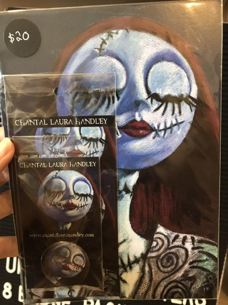 NIGHTMARE BEFORE CHRISTMAS - Sally - Horror Art Pack - ChantalLauraHandley