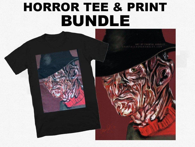 NIGHTMARE on ELM STREET - Horror TShirt & Print Bundle - ChantalLauraHandley