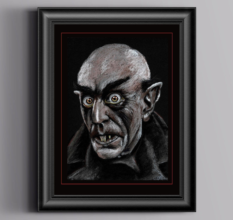 NOSFERATU - Original Pastel Artwork ORIGINAL ARTWORK ChantalLauraHandley