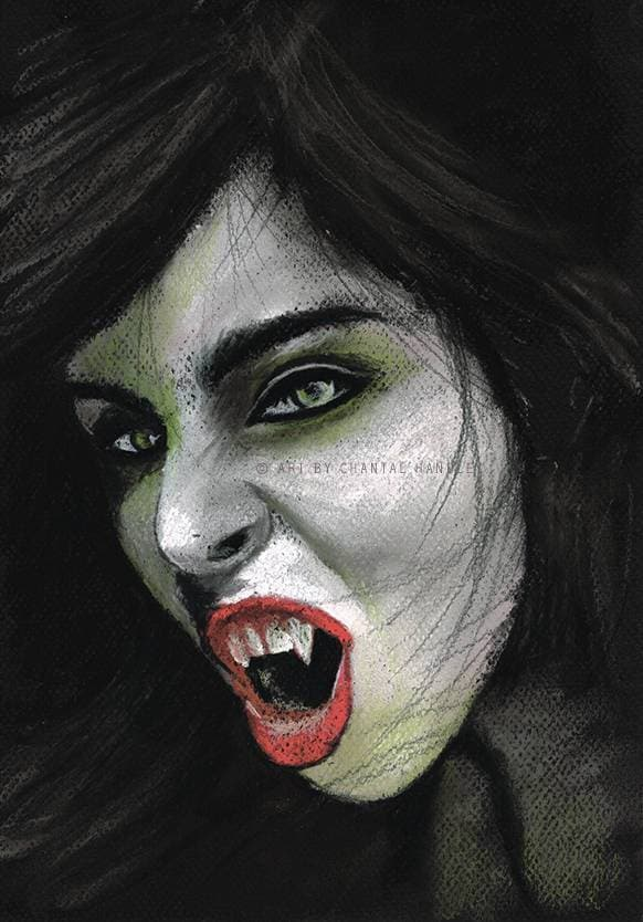 Original Vampire Artwork - ChantalLauraHandley
