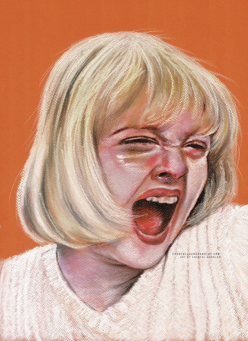 SCREAM - Casey Becker - Art Print - ChantalLauraHandley