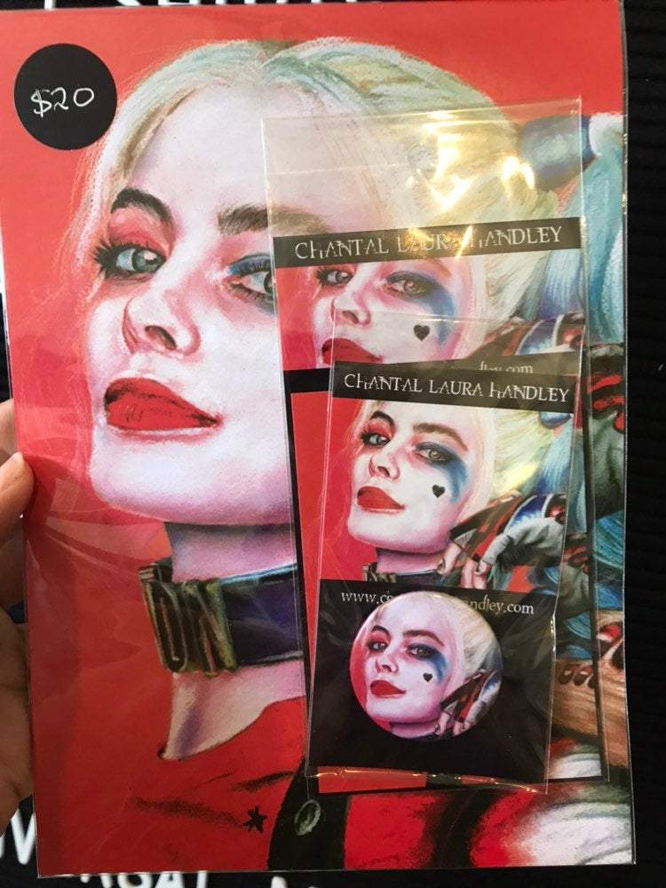 SUICIDE SQUAD HORROR PACK ChantalLauraHandley