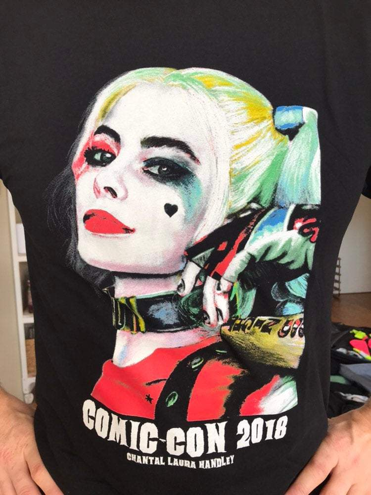SUICIDE SQUAD - Harley Quinn, Comic Con 2018 T-Shirts - ChantalLauraHandley