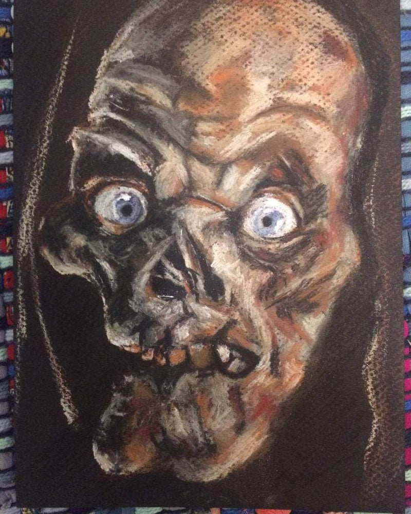TALES FROM the CRYPT - Art Print - ChantalLauraHandley