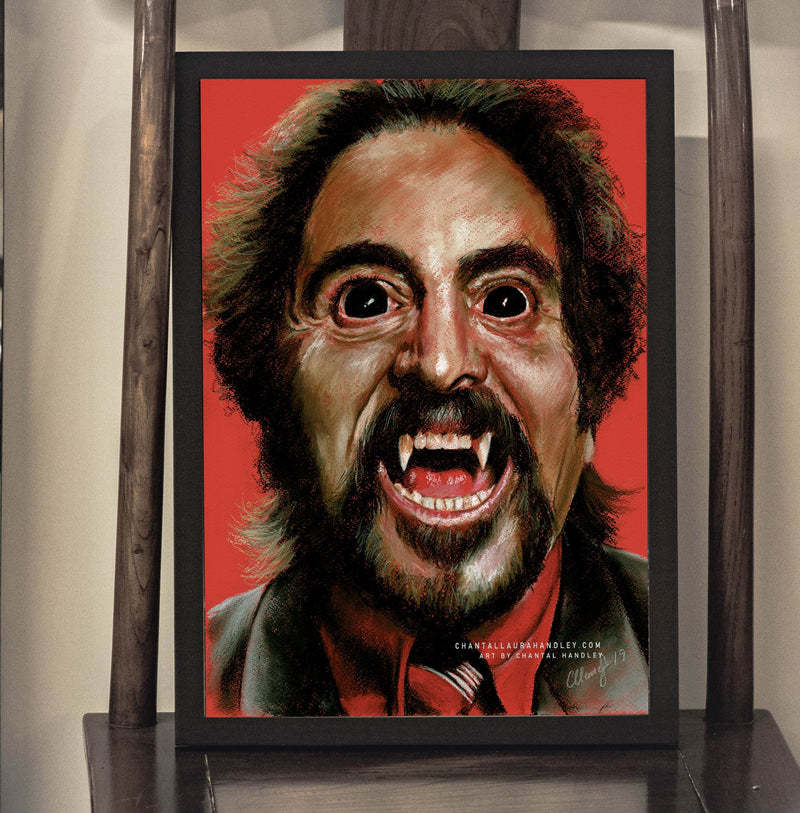 THE DEAD MATTER - Tom Savini - Art Print - ChantalLauraHandley