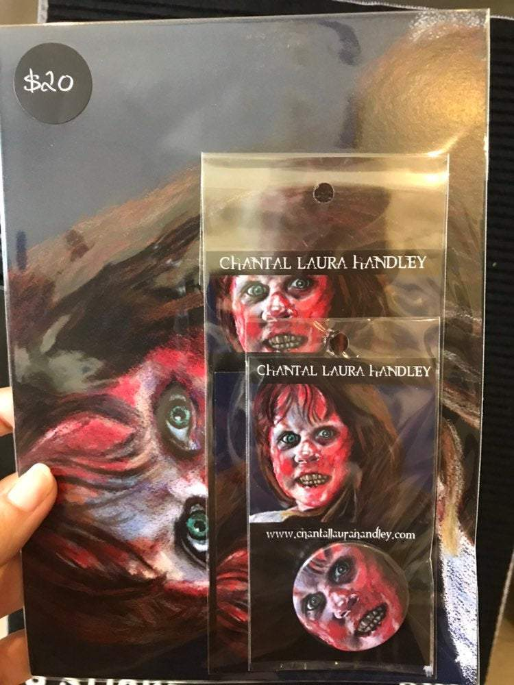 THE EXORCIST - Horror Art Pack - ChantalLauraHandley