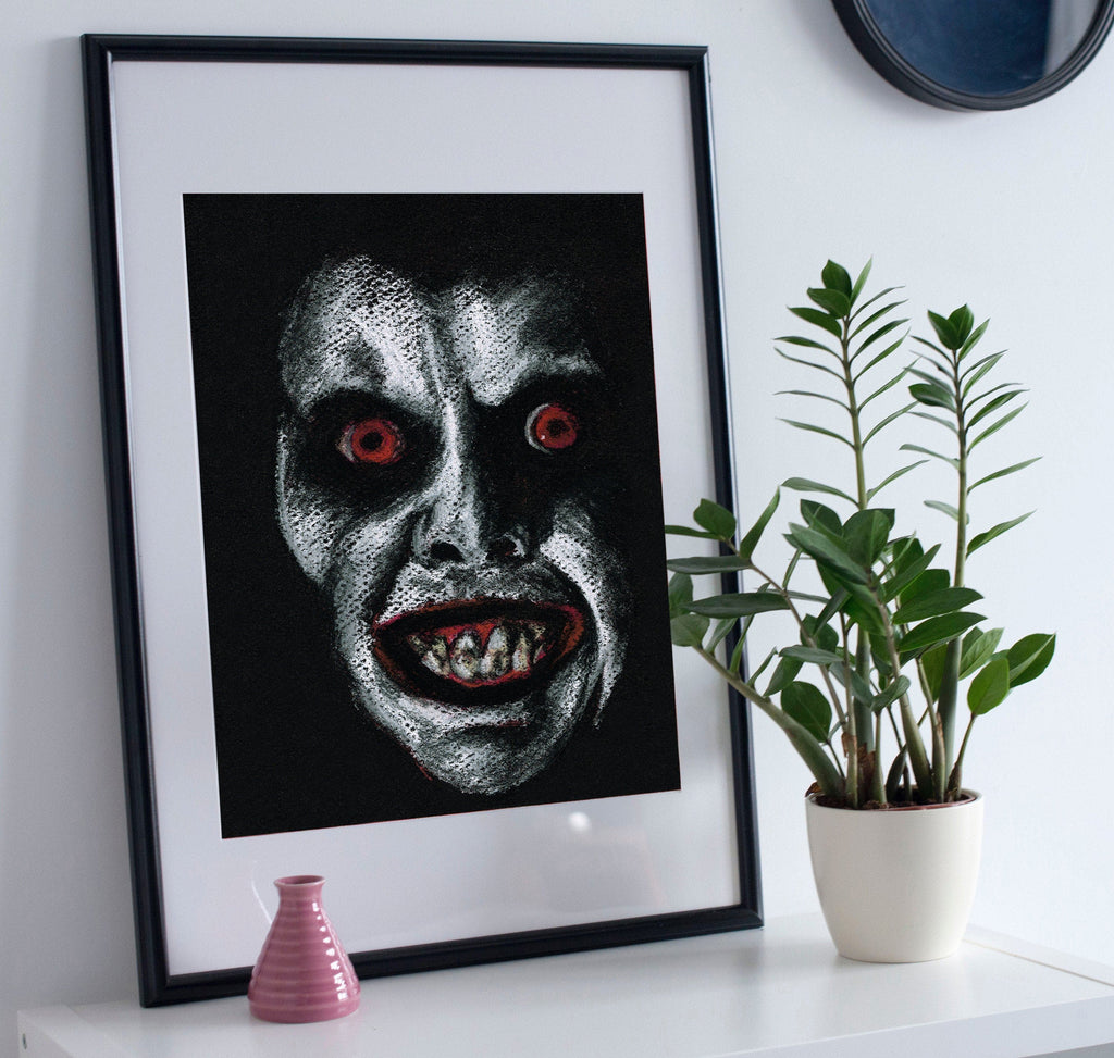 THE EXORCIST - Pazuzu ART PRINT ChantalLauraHandley